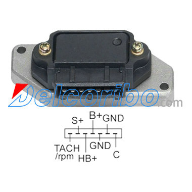 IGM1027 VOLVO Ignition Modules TRANSPO BM320; MOBILETRON IG-H004CH;  Bosch 0-227-100-120